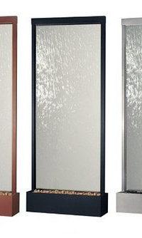 Водопады по стеклу в Минске