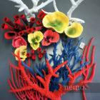 Украшения для аквариума. Искусственные кораллы