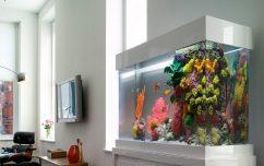 Мебель аквариума искусственный камень