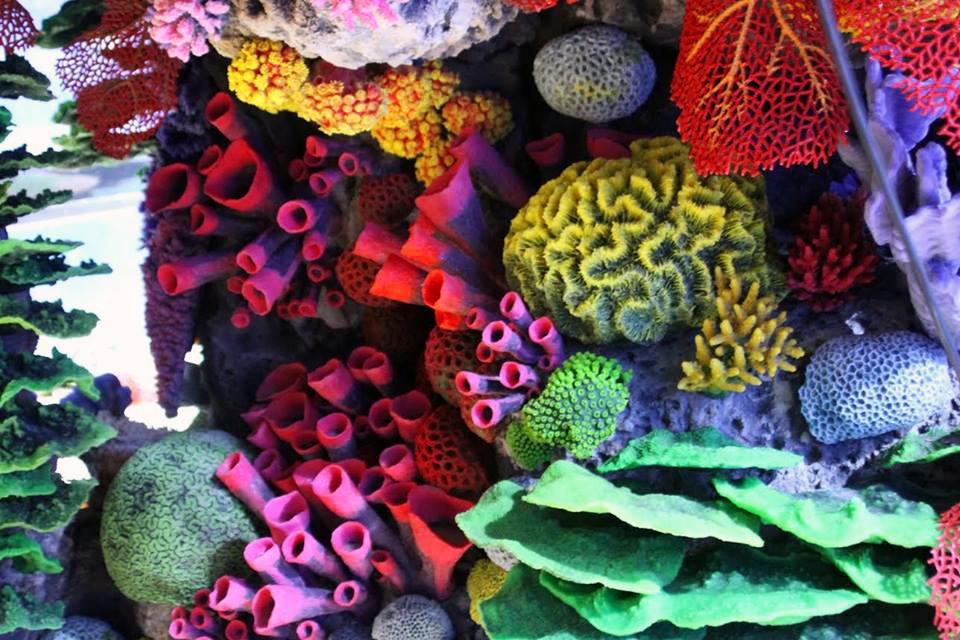 аквариумные декорации
