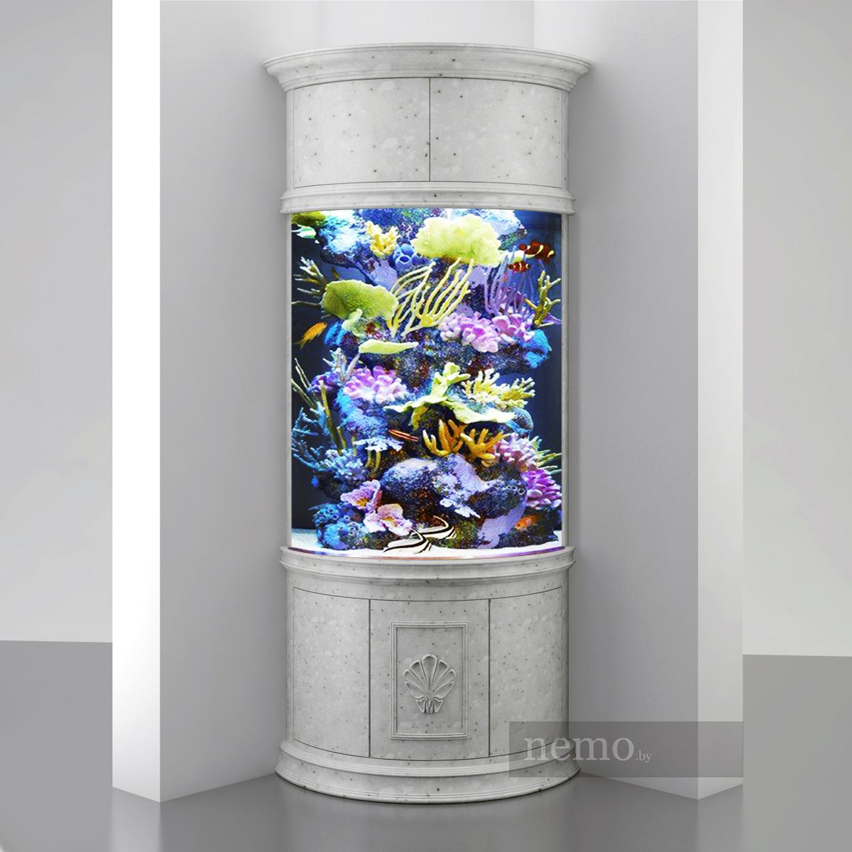 аквариум в камне