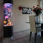 Цилиндрический аквариум