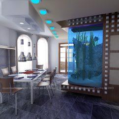 Проект аквариума AquaDreamsArt 2003г