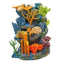 Искусственный риф для аквариума цилиндрической формы