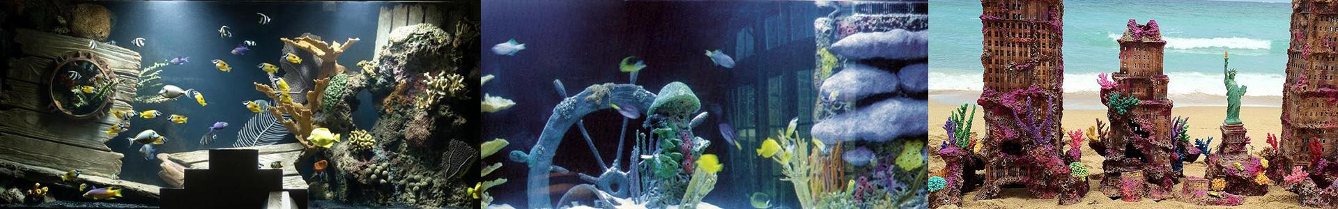 Тематический дизайн аквариума
