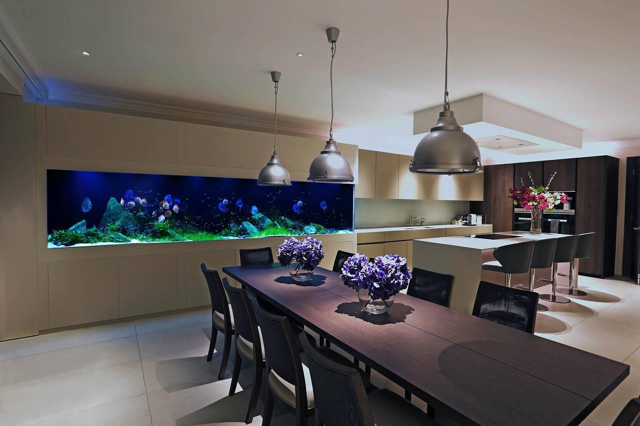 Самые дорогие аквариумы в домах знаменитостей