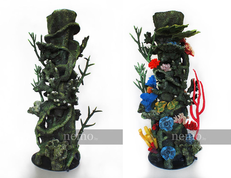 Новые декорации для аквариума