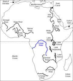 Конго карта