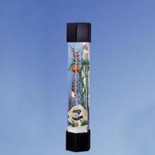 шестигранная колонна аквариум