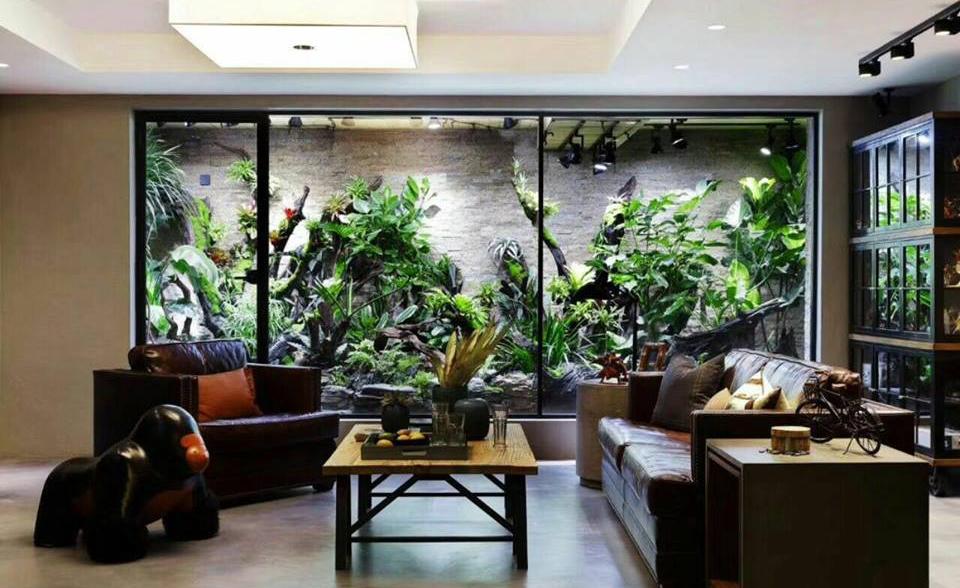 Природа в дизайне интерьера