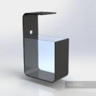 Дизайнерский аквариум 50 литров