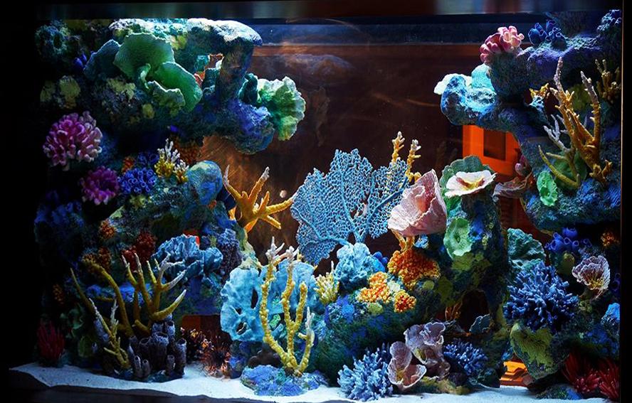 искусственные кораллы для аквариума купить