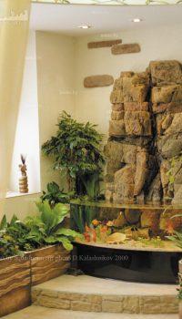 Полюдариум в интерьере оранжереи