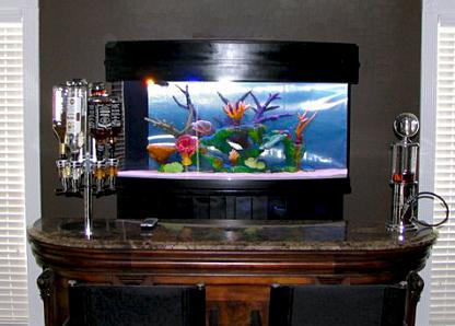 Искусственный риф для псевдоморского аквариума