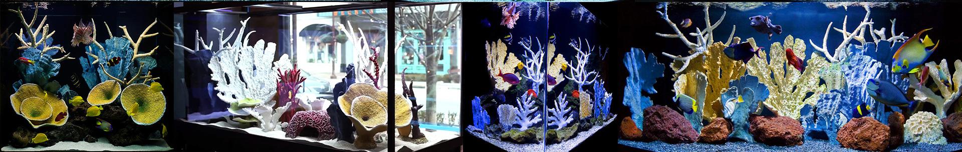 Искусственный коралловый риф для аквариума