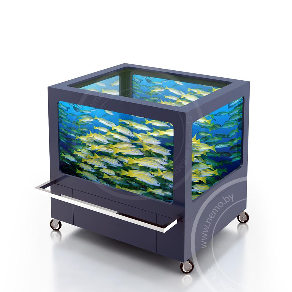 Торговое оборудование для продажи живой рыбы