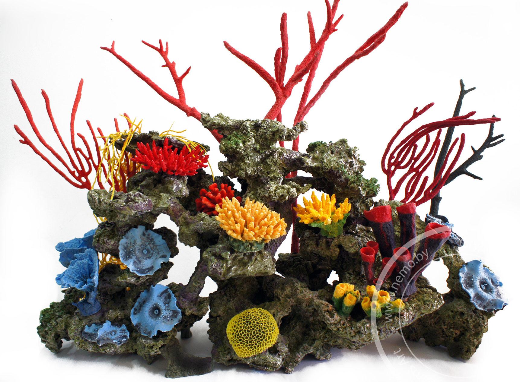 Декорации для аквариума на заказ