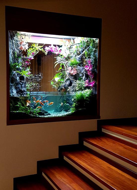 Орхидариум, акваоранжерея