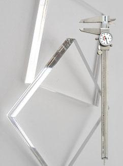 Калькулятор толщины акрилового стекла