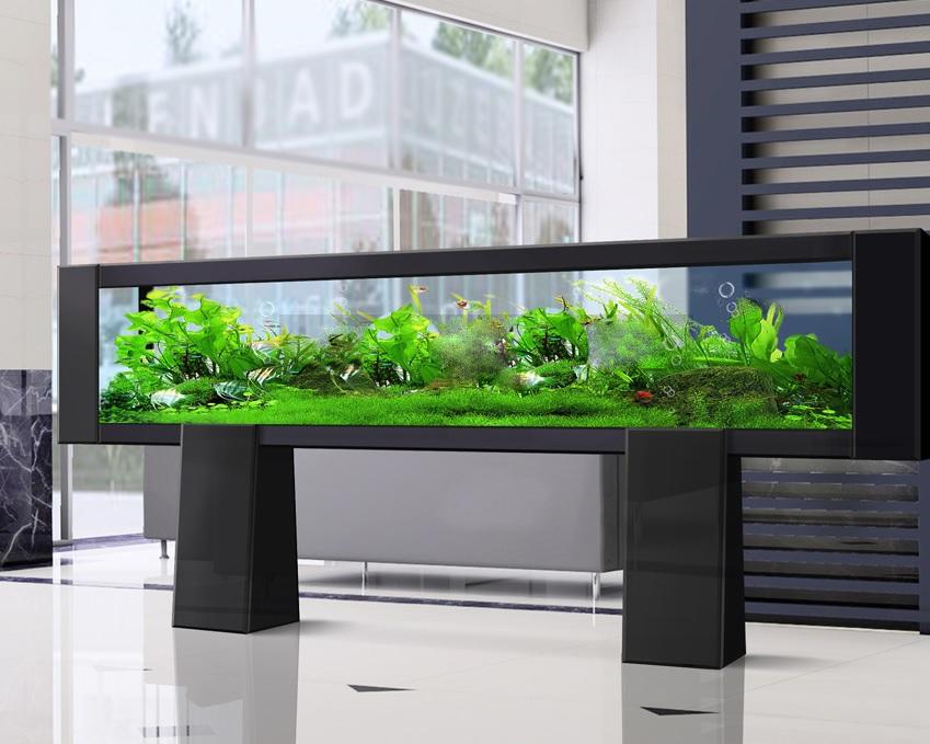 Дизайн аквариума в акриловом камне