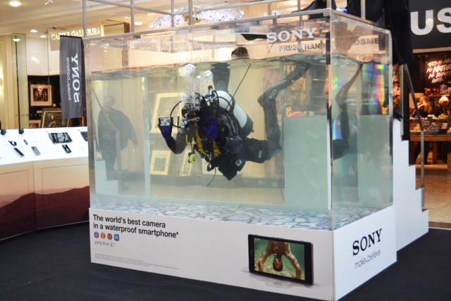 выставочное оборудование для погружения под воду