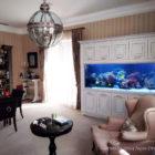 Рифовый аквариум в интерьере